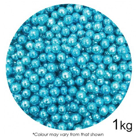 SPRINK'D | CACHOUS/BALLS | 6MM | METALLIC BLUE | 1KG