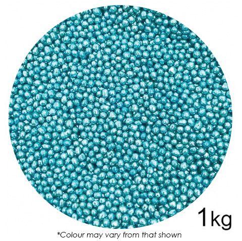 SPRINK'D | CACHOUS/BALLS | 2MM | METALLIC BLUE | 1KG