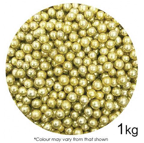 SPRINK'D | CACHOUS/BALLS | 6MM | METALLIC GOLD | 1KG