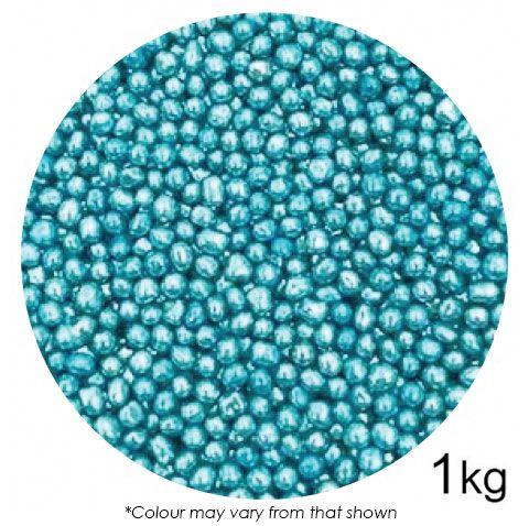 SPRINK'D | CACHOUS/BALLS | 4MM | METALLIC BLUE | 1KG