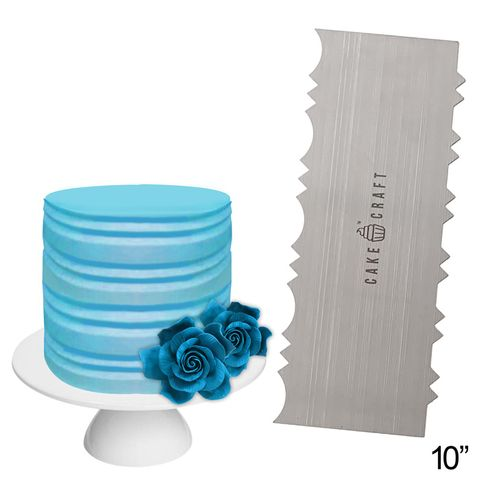 CAKE CRAFT | BUTTERCREAM COMB | COLONIAL | 10 INCH