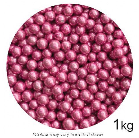 SPRINK'D | CACHOUS/BALLS | 6MM | METALLIC PINK | 1KG