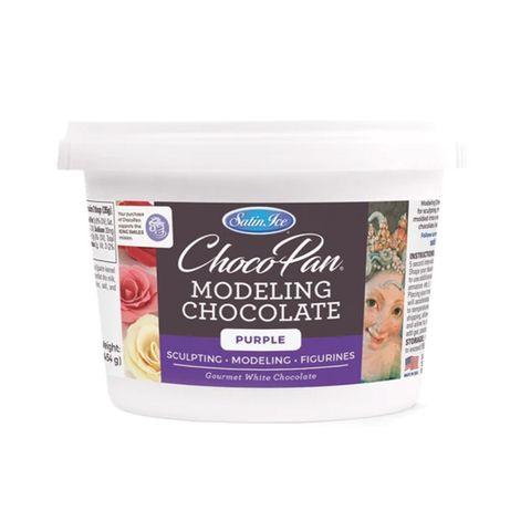 SATIN ICE | CHOCOPAN MODELING CHOCOLATE | PURPLE | 454G