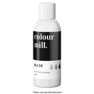 COLOUR MILL | BLACK | FOOD COLOUR | 100ML
