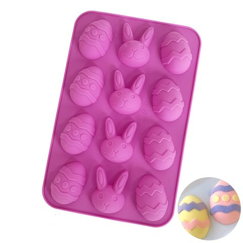 EASTER EGG & BUNNY RABBIT | SILICONE MOULD