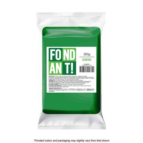 GREEN/VANILLA | FONDANT | 200G