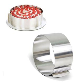 ADJUSTABLE ROUND BAKING RING