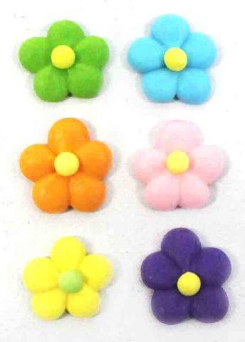FLOWER POWER MINI ASSORTED (240) - SUGAR FLOWERS