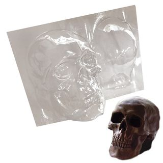 3D SKULL   CHOCOLATE MOULD   LARGE