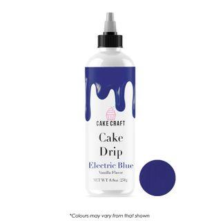 CAKE CRAFT | CAKE DRIP | ELECTRIC BLUE | 250g
