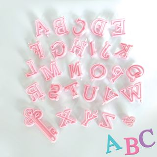 ALPHABET | COOKIE CUTTERS | UPPERCASE