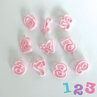 ALPHABET | COOKIE CUTTERS | NUMBERS