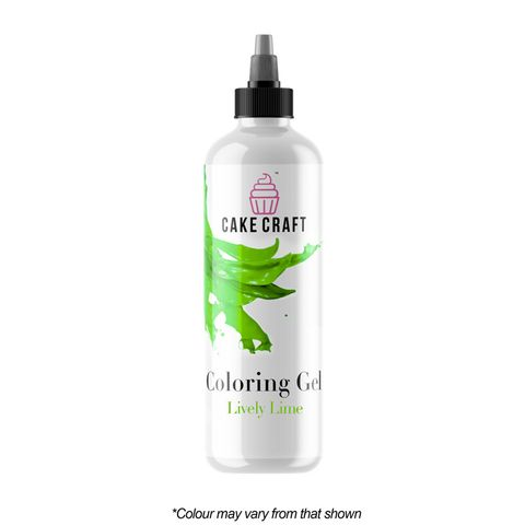 CAKE CRAFT   COLOURING GEL   LIVELY LIME   250G