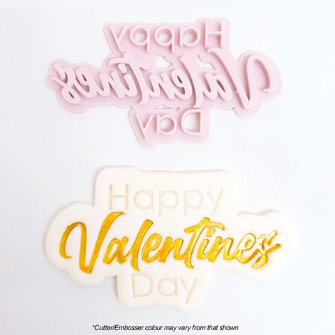 HAPPY VALENTINE'S DAY | LARGE | CUTTER & EMBOSSER