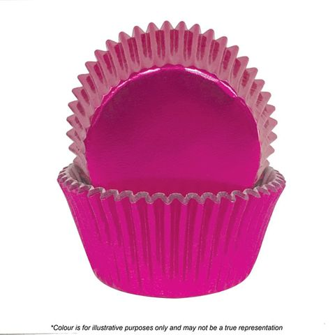 CAKE CRAFT | 700 PINK FOIL BAKING CUPS | PACK OF 72