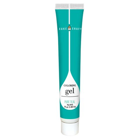 CAKE CRAFT   COLOURING GEL   PURE TEAL   30G