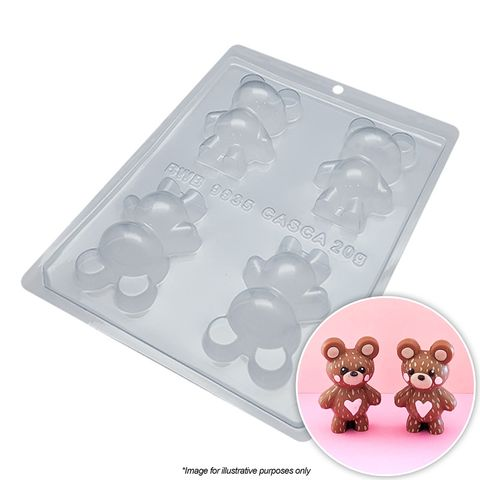 BWB | SMALL BEARS MOULD | 3 PIECE