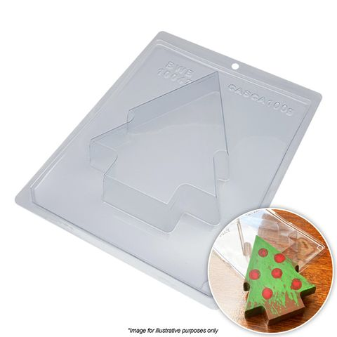 BWB   LARGE CHRISTMAS TREE MOULD   3 PIECE