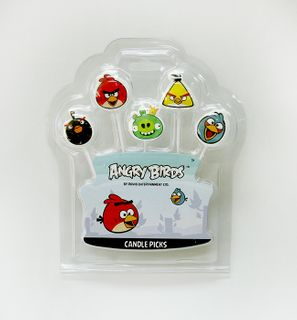 ANGRY BIRDS - PICK CANDLE (12)