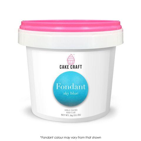 CAKE CRAFT | FONDANT | SKY BLUE | 1KG