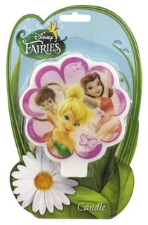 DISNEY FAIRIES - FLAT CANDLE (6)