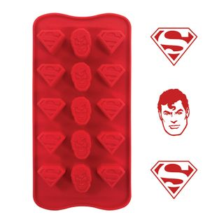 SUPERMAN - SILICONE CHOCOLATE MOULD