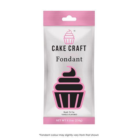 CAKE CRAFT   FONDANT   VOODOO BLACK   250G