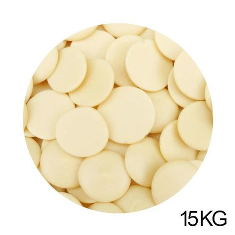 PREMIUM CHOCOLATE | WHITE COMPOUND CHOCOLATE CALLETS | 15KG