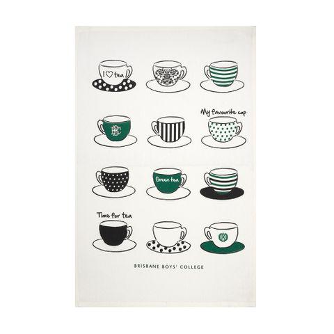 BBC Tea Towel Tea Cup