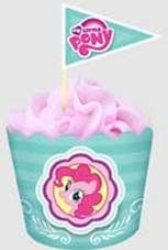 MY LITTLE PONY | FLAT BAKING CUPS & PICKS | 18 PIECE PACK