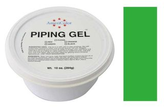 AMERICOLOR - GREEN  PIPING GEL 10 OZ TUB