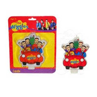 THE WIGGLES FLAT CANDLE