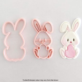 BUNNY WITH EGG | COOKIE CUTTER & EMBOSSER