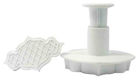 QUILTING PLAQUE EMBOSSING PLUNGER CUTTER