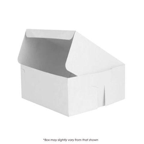16X16X6 INCH CAKE BOX - 2 PIECE/HALF SLAB