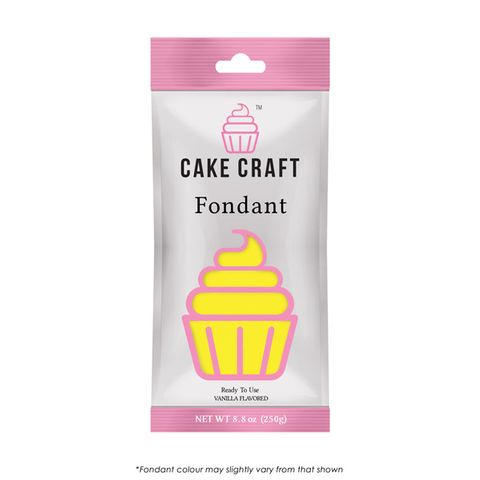CAKE CRAFT | FONDANT | SUNRISE YELLOW | 250G