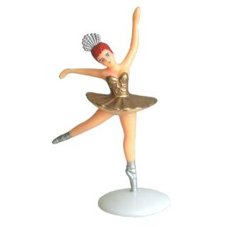 LARGE BALLERINA ON STAND