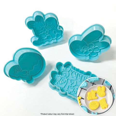 HAPPY EASTER | PLUNGER CUTTERS | 4 PIECES