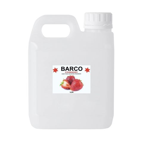 BARCO   FLAVOURS   STRAWBERRY   1L