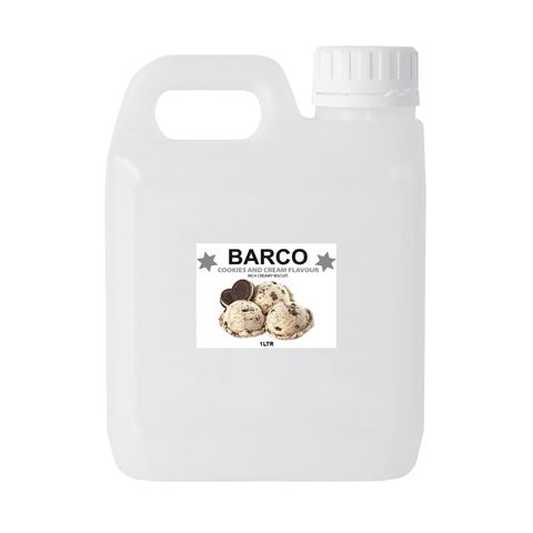 BARCO | FLAVOURS | COOKIES & CREAM | 1L