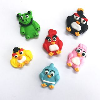 ANGRY BIRDS (72) | SUGAR DECORATIONS