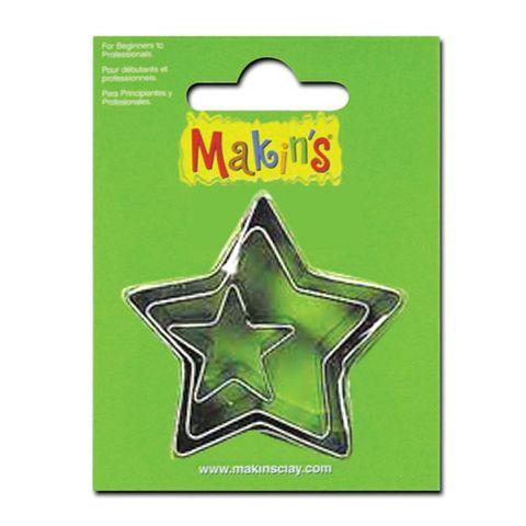 MAKINS | STAR CUTTER SET | 3 PIECES