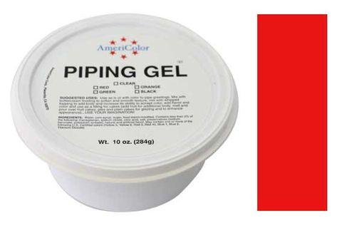 AMERICOLOR - RED PIPING GEL 10 OZ TUB