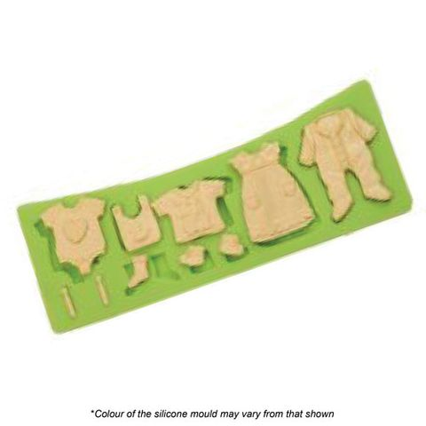 BABY CLOTHES SILICONE MOULD