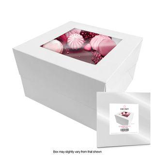 CAKE CRAFT   14X14X12 INCH CAKE BOX   RETAIL PACK