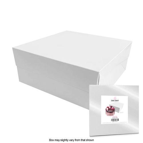 CAKE CRAFT | 12X12X6 INCH CAKE BOX | RETAIL PACK