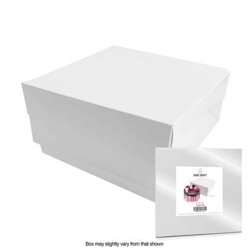 CAKE CRAFT | 11X11X6 INCH CAKE BOX | RETAIL PACK