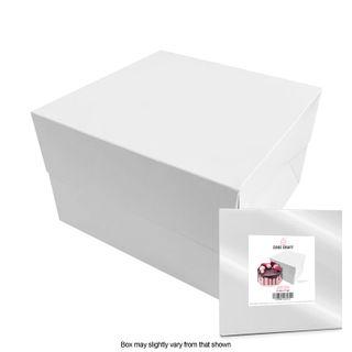 CAKE CRAFT   6X6X5 INCH CAKE BOX   RETAIL PACK