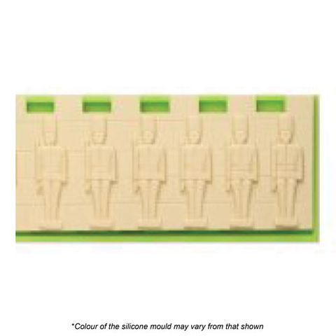 TOY SOLDIER WALL SILICONE MOULD