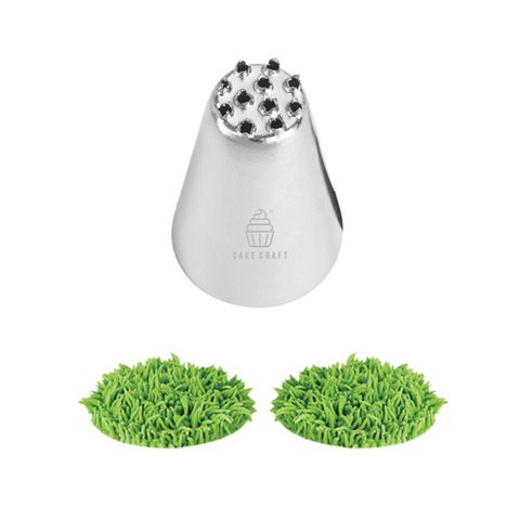 CAKE CRAFT   #233 GRASS   PIPING TIP   STAINLESS STEEL